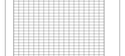0.5 cm Grid Lines Template