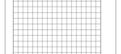 1cm Grid Lines Template