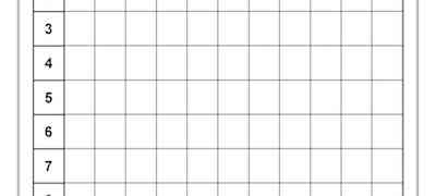 Math- Addition Grid Template