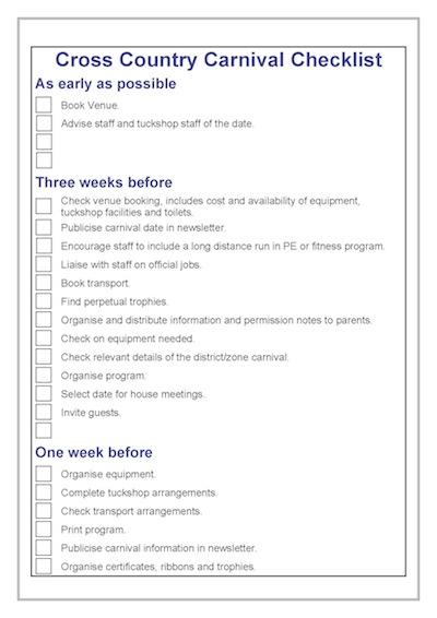 checklist-p1-cross-country-carnival
