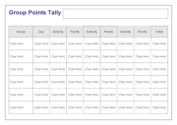 group-points-tally